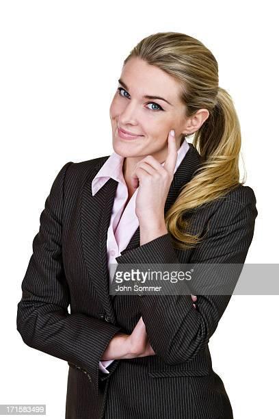 Trustworthy businesswoman