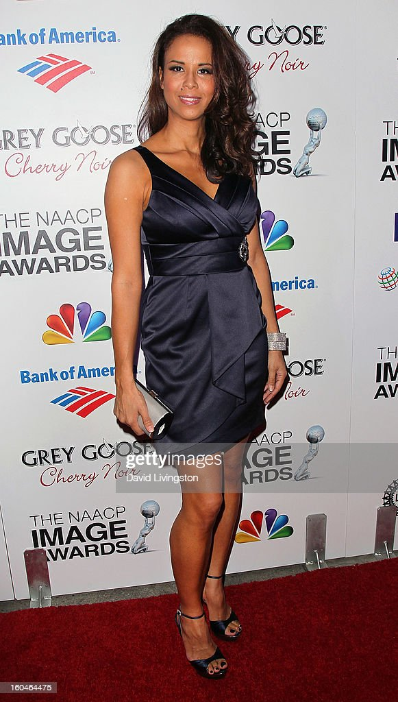 Truth In Reality founder Sil Lai Abrams attends the NAACP Image Awards Pre-Gala at Vibiana on January 31, 2013 in Los Angeles, California.