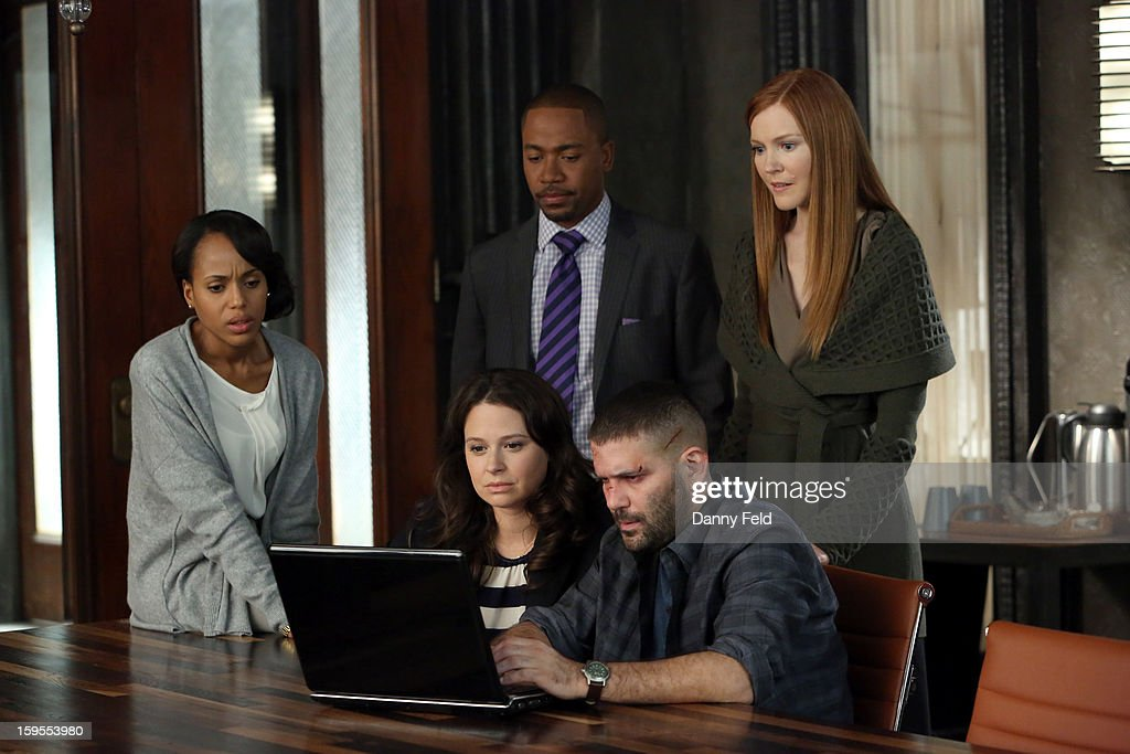 SCANDAL - 'Truth or Consequences' - After discovering the truth about the rigged White House election, the 'Gladiators in Suits' realize that a quickly unraveling Olivia may not always wear the white hat. Meanwhile, Mellie is forced to take extreme measures to try and reel Fitz in, on ABC's 'Scandal,' THURSDAY, JANUARY 31 (10:02-11:00 p.m., ET) on the ABC Television Network. (Photo by Danny Feld / ABC via Getty Images)) STANCHFIELD