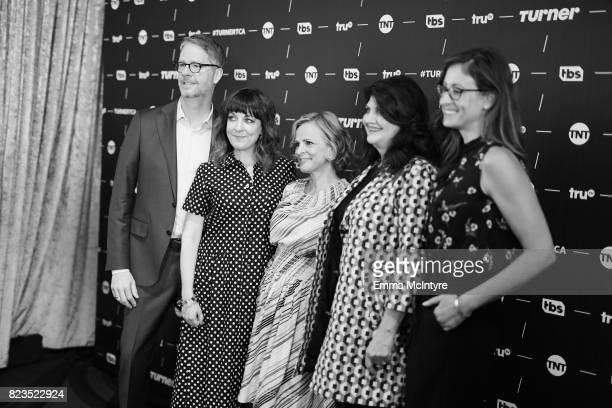 truTV President Chris Linn Writer/producer Jodi Lennon Creator/actor Amy Sedaris producer Cindy Caponera and EVP Head of Original Programming truTV...