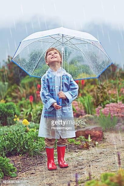 Cerca di trovare la fonte della pioggia