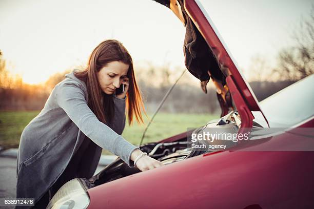 Um das Auto zu reparieren
