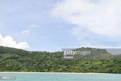 M'Tsamboro island : Stock Photo