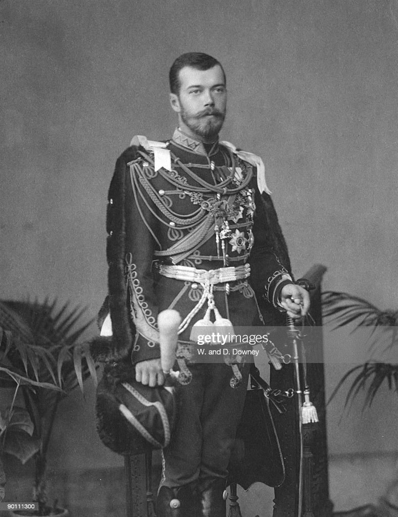 Tsar Nicholas II of Russia (1868 - 1918), the last Emperor of Russia, circa 1910. He was shot with his entire family by the Red Guards at Yekaterinburg.
