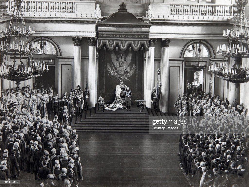 Russian Duma 1905 Tsar Nicholas II of Ru...