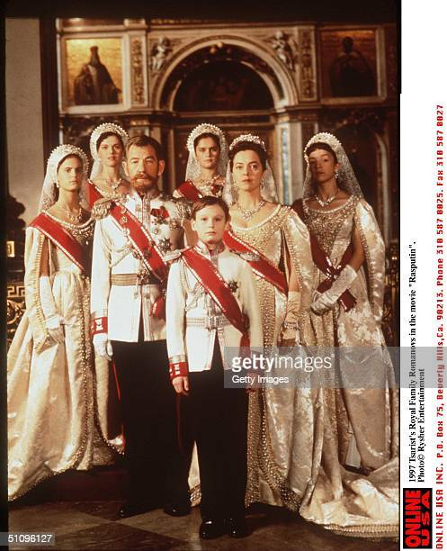 Tsarist's Royal Familey Romanovs In The Movie 'Rasputin'