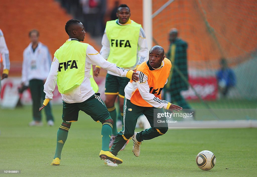 South Africa Training at Soccer City-2010 FIFA World Cup