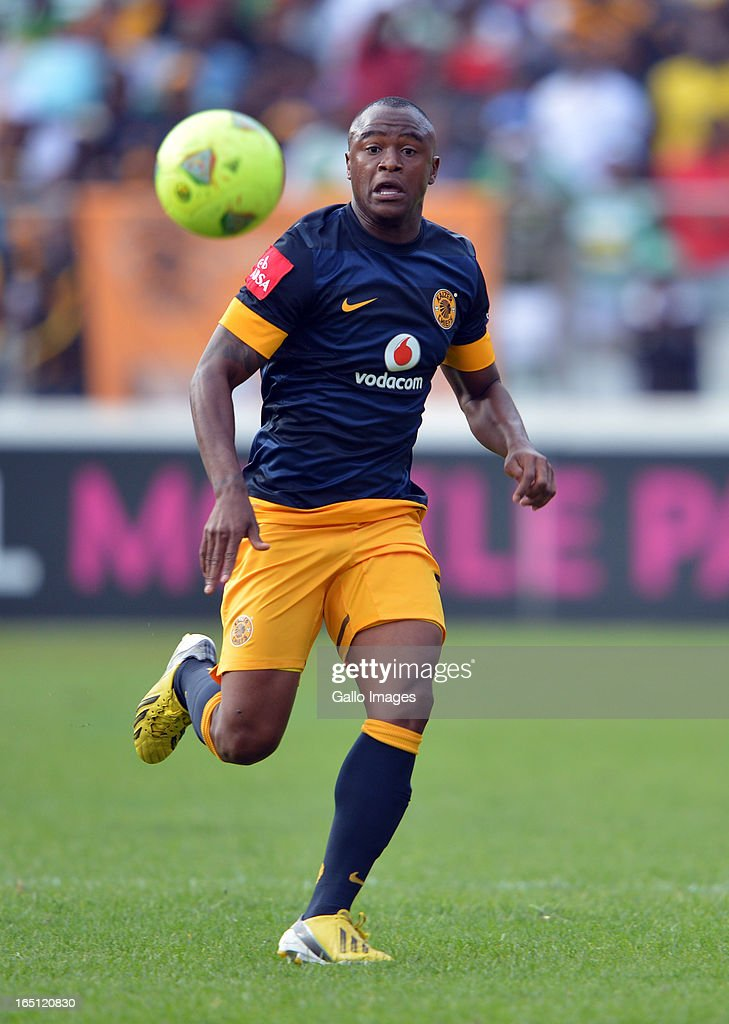 Tsepo Masilela on the attack during the Absa Premiership match between Bloemfontein Celtic and Kaizer Chiefs at FNB Stadium on March 31, 2013 in Johannesburg, South Africa.
