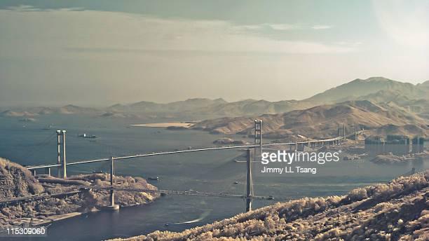 Tsing Ma Bridge Infared