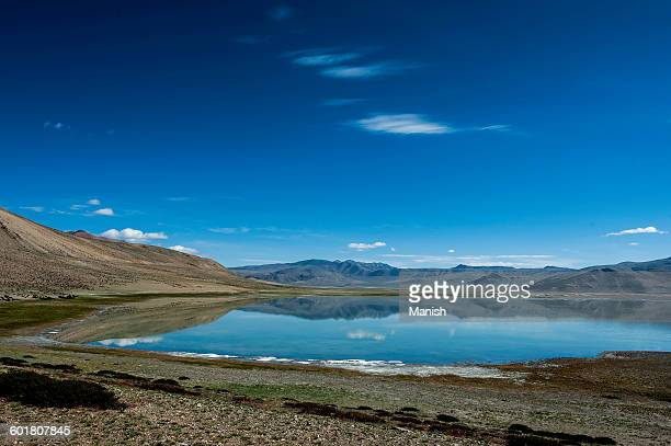 TsoKar salt lake, Jammu and Kashmir, India
