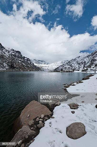 Tsongmo lake in Sikkim, India