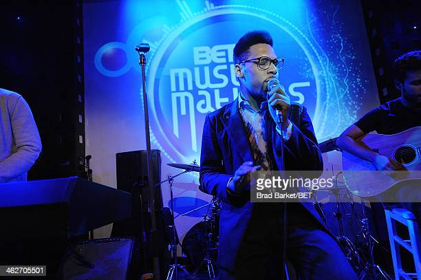 TSoul performs at SOB's on January 14 2014 in New York City