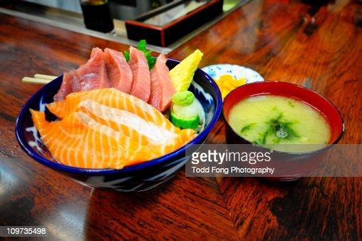 Tsukiji Market Breakfast