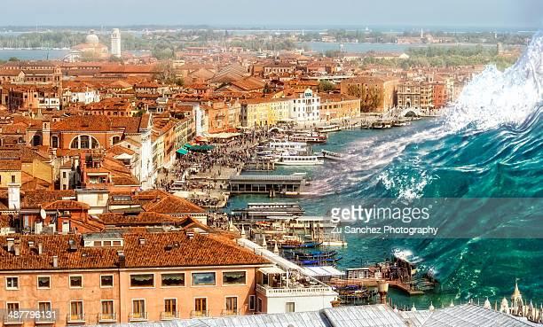 Tsunami over Venice