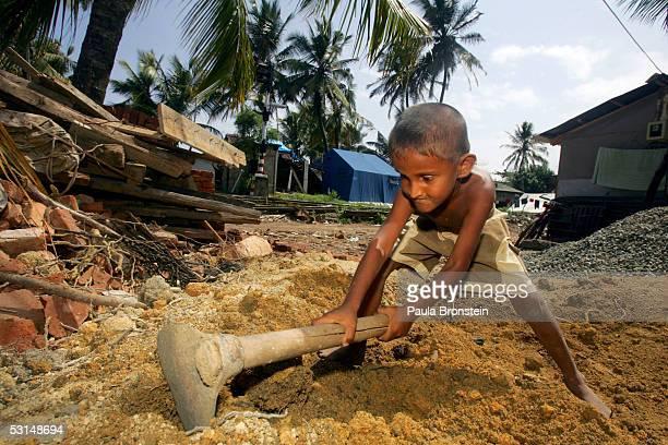Tsunami Recovery Continues In Sri Lanka