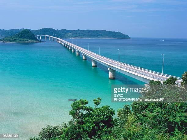 Tsunoshima Ohashi Bridge,  Shimonoseki,  Yamaguchi Prefecture,  Japan