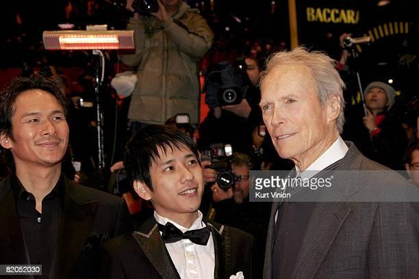 Tsuyoshi Ihara Kazunari Ninomiya and Clint Eastwood