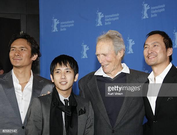 Tsuyoshi Ihara Kazunari Ninomiya Clint Eastwood and Ken Watanabe