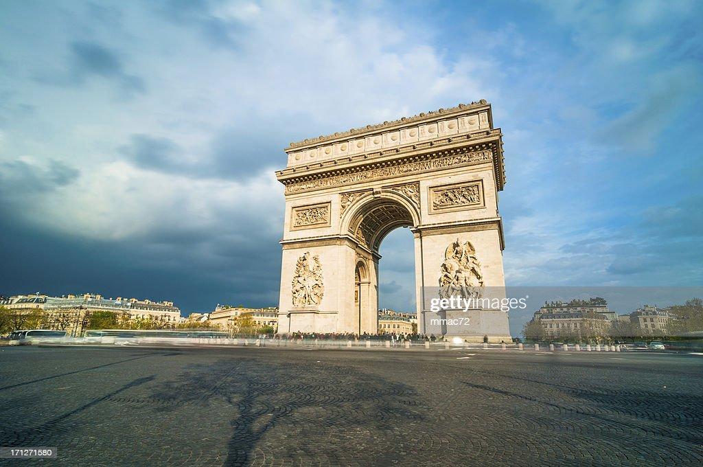 'Tthe Arc de Triomphe, Paris'