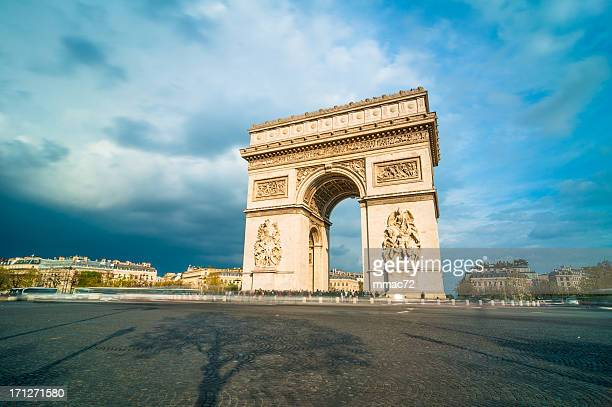 Tthe Arc de Triomphe, Paris