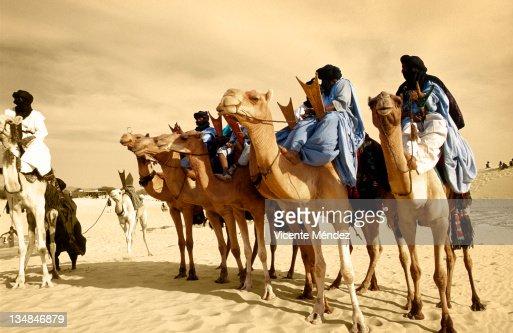 Tuaregs mounnted
