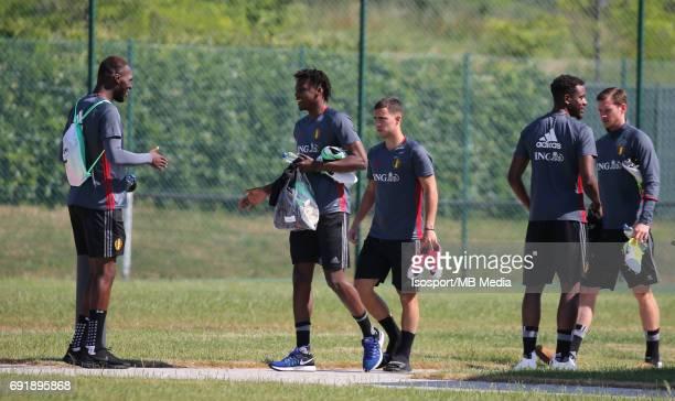 20170602 Tubize Belgium / Training Belgium / Christian BENTEKE Dedryck BOYATA / Picture Vincent Van Doornick / Isosport