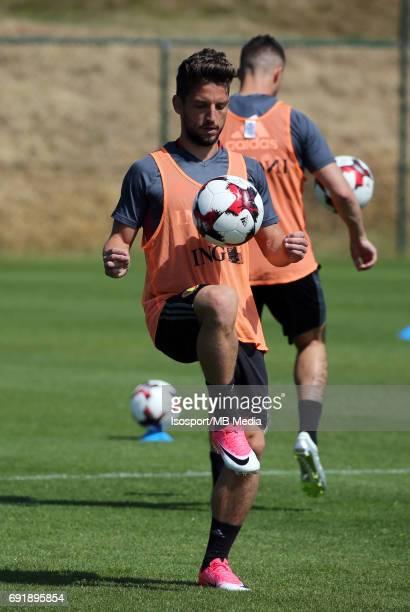 20170602 Tubize Belgium / Training Belgium / Dries MERTENS / Picture Vincent Van Doornick / Isosport