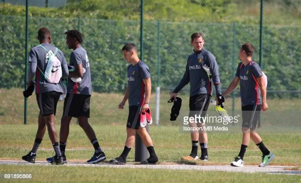 20170602 Tubize Belgium / Training Belgium / Eden HAZARD Jan VERTONGHEN Thorgan HAZARD / Picture Vincent Van Doornick / Isosport