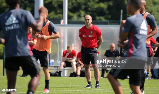 20170602 Tubize Belgium / Training Belgium / Roberto MARTINEZ / Picture Vincent Van Doornick / Isosport