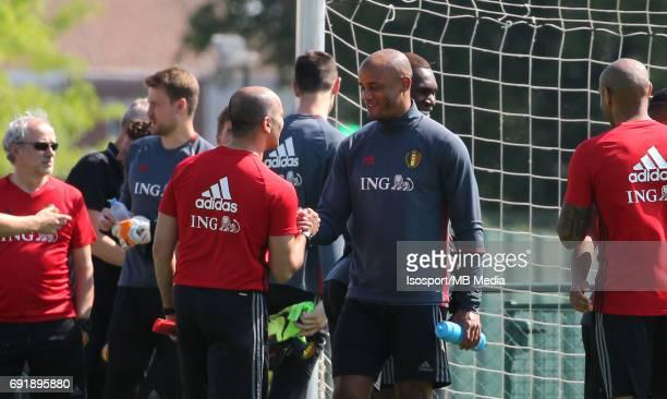 20170602 Tubize Belgium / Training Belgium / Roberto MARTINEZ Vincent KOMPANY / Picture Vincent Van Doornick / Isosport