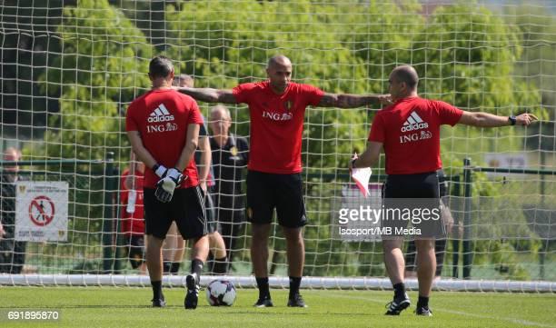 20170602 Tubize Belgium / Training Belgium / Thierry HENRY Roberto MARTINEZ / Picture Vincent Van Doornick / Isosport