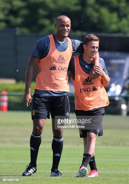 20170602 Tubize Belgium / Training Belgium / Vincent KOMPANY Thorgan HAZARD / Picture Vincent Van Doornick / Isosport