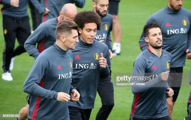 20171002 Tubize Belgium / Training Red Devils /'nAxel WITSEL'nPicture Vincent Van Doornick / Isosport