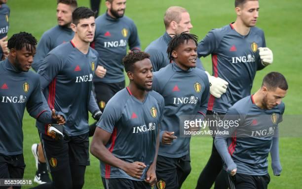 20171002 Tubize Belgium / Training Red Devils /'nDedryck BOYATA'nPicture Vincent Van Doornick / Isosport