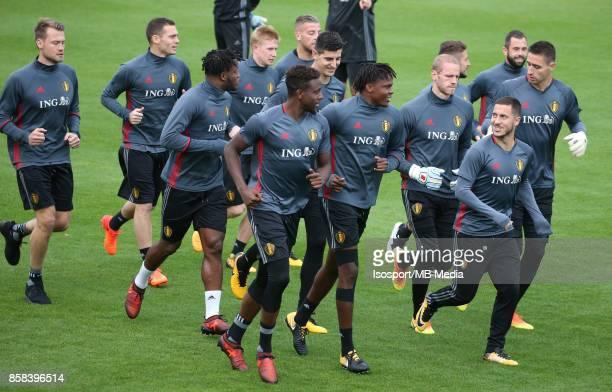 20171002 Tubize Belgium / Training Red Devils /'nEden HAZARD'nPicture Vincent Van Doornick / Isosport