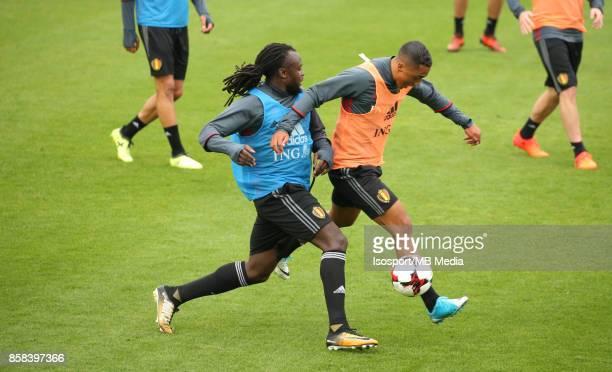 20171002 Tubize Belgium / Training Red Devils /'nJordan LUKAKU Youri TIELEMANS'nPicture Vincent Van Doornick / Isosport