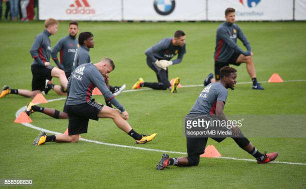 20171002 Tubize Belgium / Training Red Devils /'nMichy BATSHUAYI'nPicture Vincent Van Doornick / Isosport