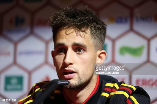 20171107 Tubize Belgium / Training Red Devils /'nPress conference Adnan JANUZAJ'nPicture Vincent Van Doornick / Isosport