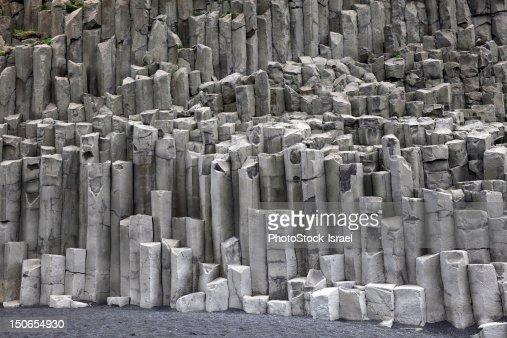 Tubular basalt columns