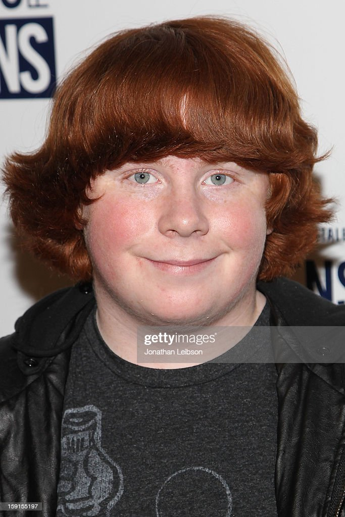 Tucker Albrizzi attends the Aeropostale Inc And DoSomethingorg's 6th Annual 'Teens For Jeans' Campaign Event at Palihouse on January 8 2013 in West...