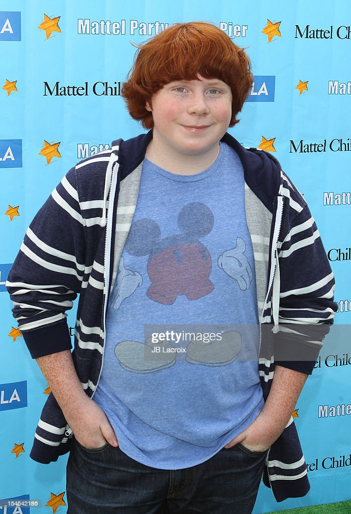 Tucker Albrizzi attends the Mattel Party On The Pier Benefiting Mattel Children's Hospital UCLA at Pacific Park Santa Monica Pier on October 21 2012...