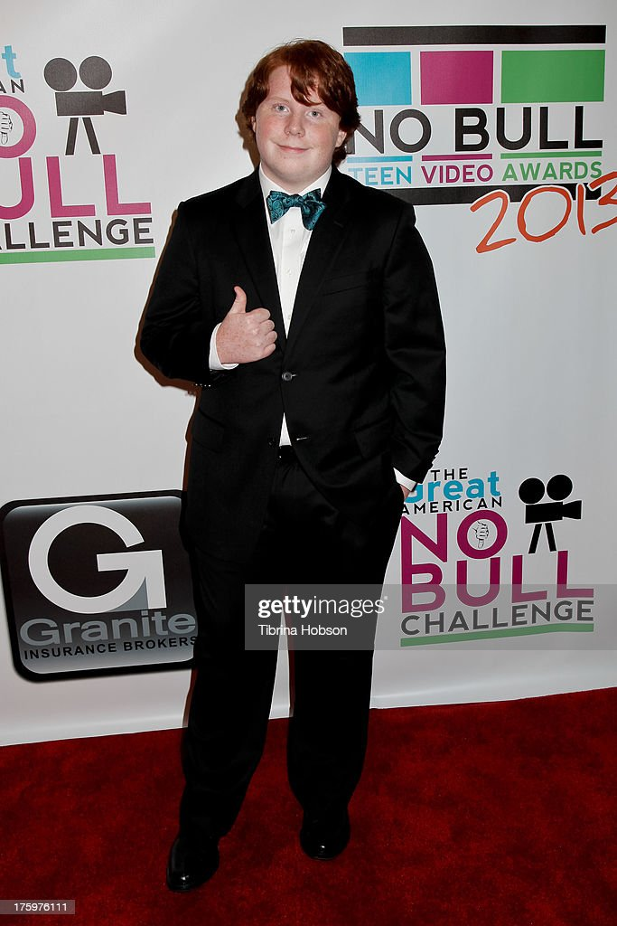 Tucker Albrizzi attends the 'No Bull Teen Video Awards' at the Westin LAX Hotel on August 10 2013 in Los Angeles California