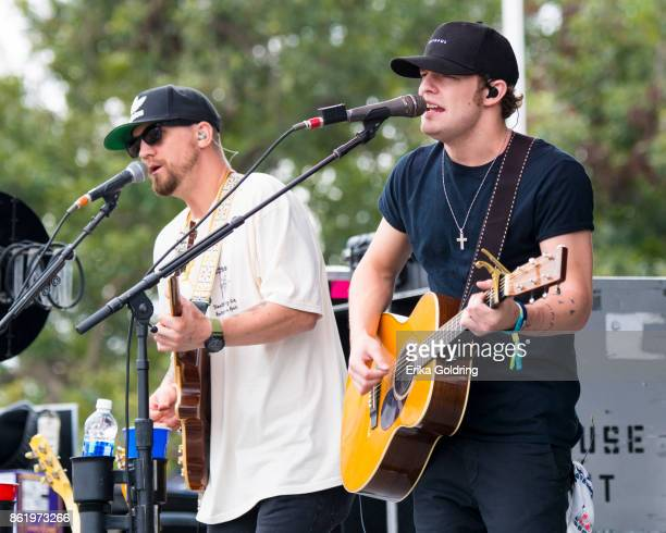 Tucker Beathard performs during Austin City Limits Festival at Zilker Park on October 15 2017 in Austin Texas