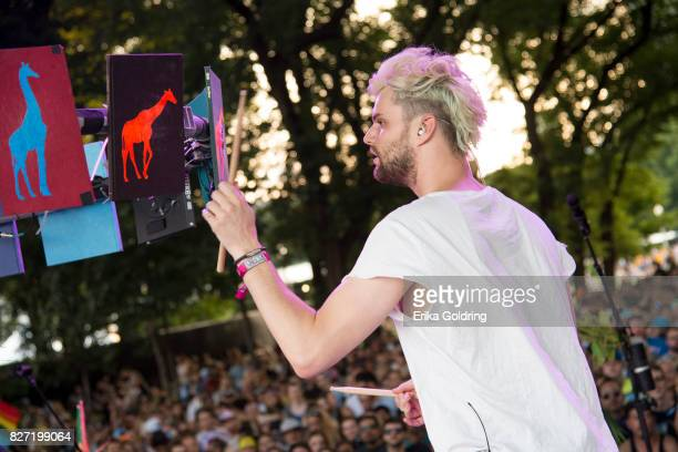 Tucker Halpern of Sofi Tucker performs during Lollapalooza at Grant Park on August 6 2017 in Chicago Illinois