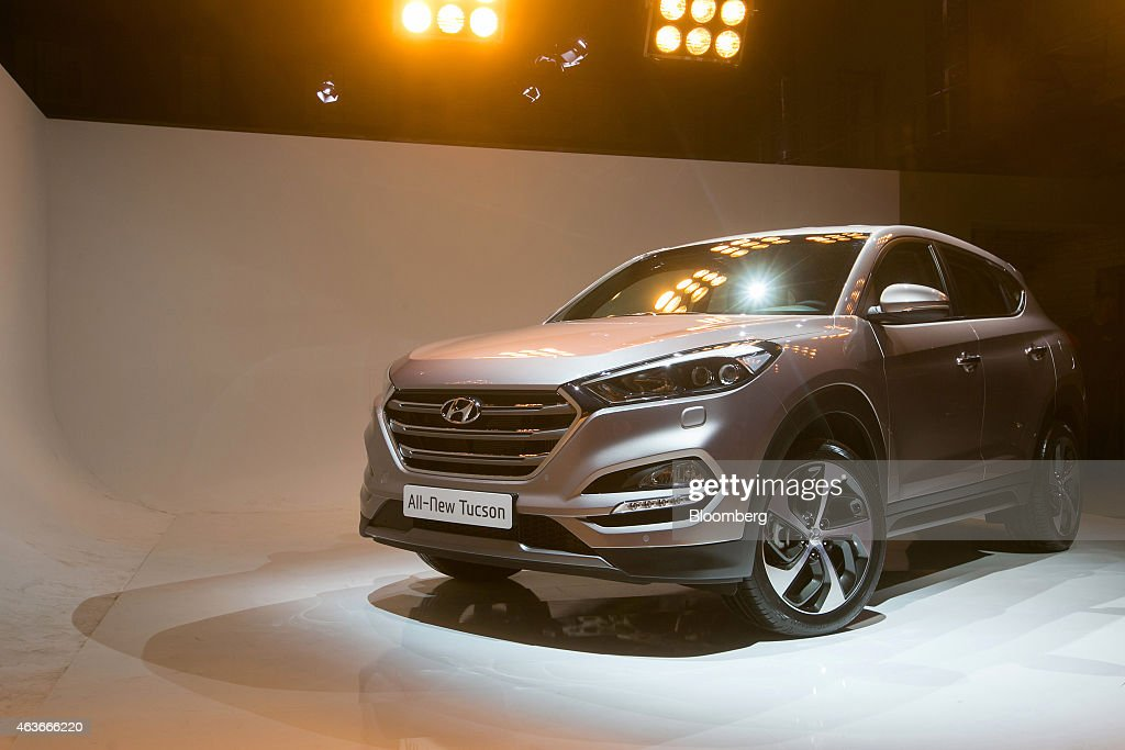 World Premier Of Hyundai Motor Co S New Tucson Suv