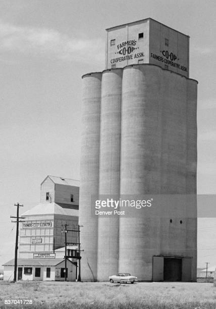 Tucumcari New Mexico Agriculture is one of the mainstays of the Tucumcari economy This is one of several large grain elevators at Tucumcari Credit...