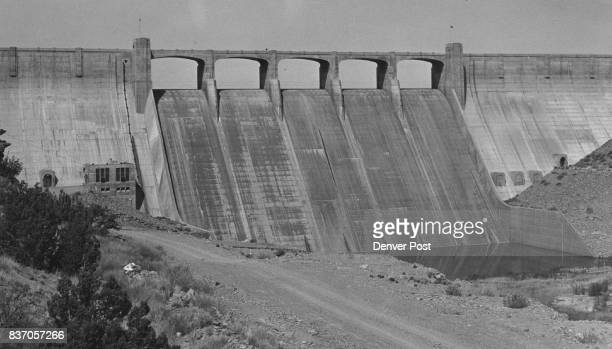 Tucumcari New Mexico Completed in 1939 Conchas dam provides flood control as well as irrigation recreation Credit Denver Post