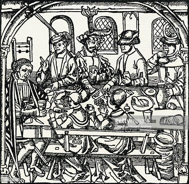 A Tudor Tavern From The Streets Of London Through The Centuries
