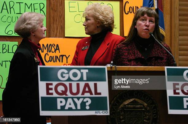 Tuesday April 25 was equal pay day to call attention to the pay gap between working women and men an of working people of color Senator Sue Windels...