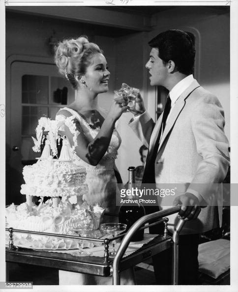 Tuesday Weld And Frankie Avalon In 'I'll Take Sweden